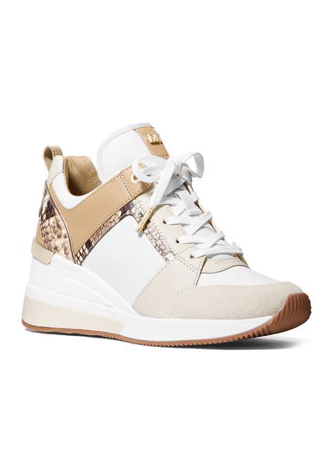 MICHAEL Michael Kors Womens Georgie Trainer Sneakers