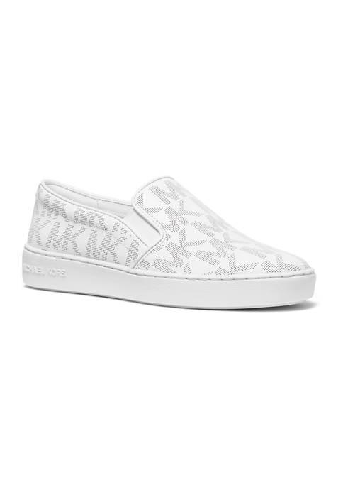 MICHAEL Michael Kors Womens Keaton Slip On Sneakers