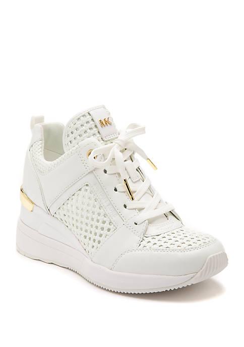 Womens Georgie Wedge Trainer Sneakers