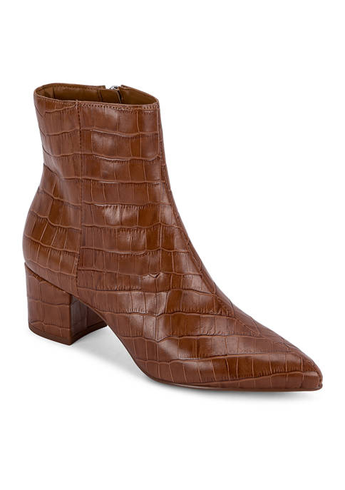 Bel Block Heel Dress Booties