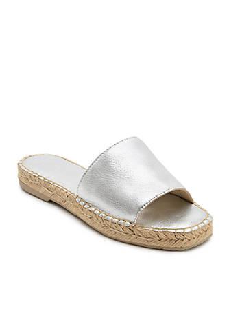 Bobbi Espadrille Slide Sandals MgBaKQG5