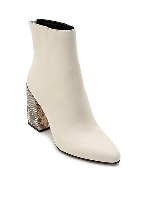 Dolce Vita Coby Snake Heel Boots