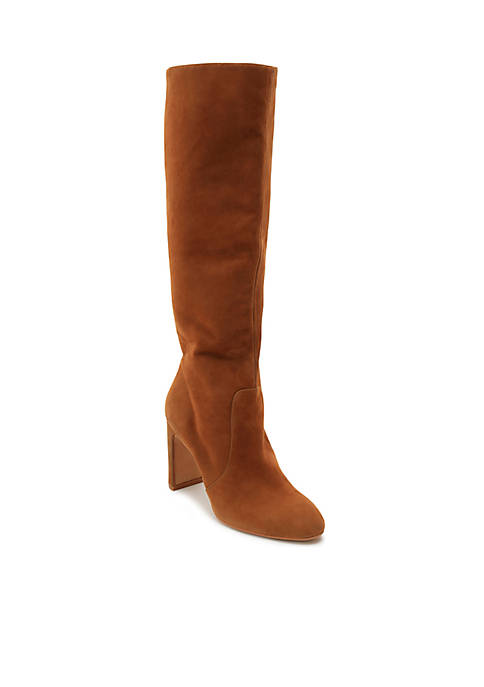 Dolce Vita Coop Tall Shaft Suede Dress Boot