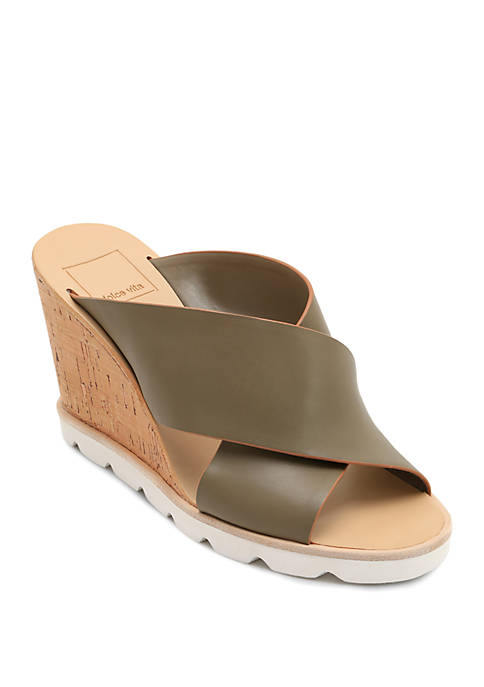 Dolce Vita Lida Sport Bottom Wedge Sandals