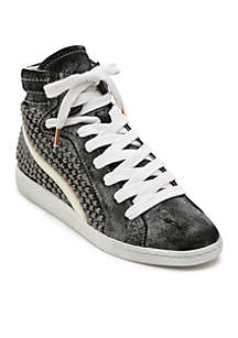 Dolce Vita Natty High Top Studded Sneakers