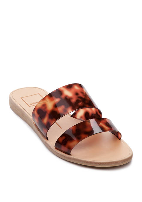 Dolce Vita Pepa Clear Slide Sandals