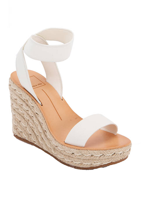 Dolce Vita Philly Stretch Wedge Sandals