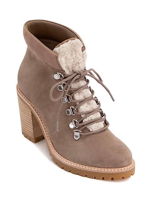 Post Heel Hiker Boots
