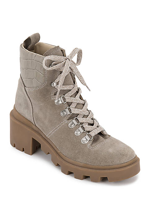 Rubi Lace Up Hiker Boots
