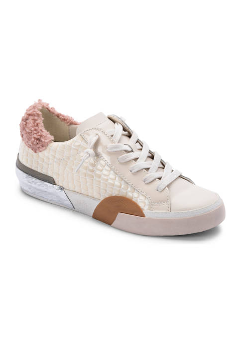Dolce Vita Womens Zina Plush Sneakers