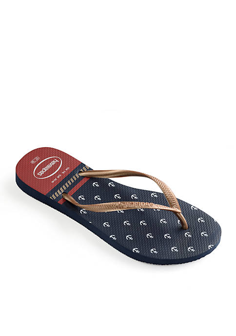 Havaianas Slim Nautical Flip Flop