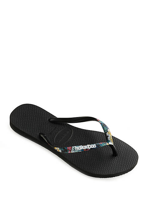 Havaianas Slim Tropical Straps Sandals