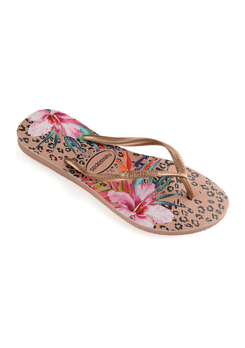 Havaianas Slim Animal Floral Sandals