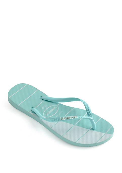 Slim Trio Sandals