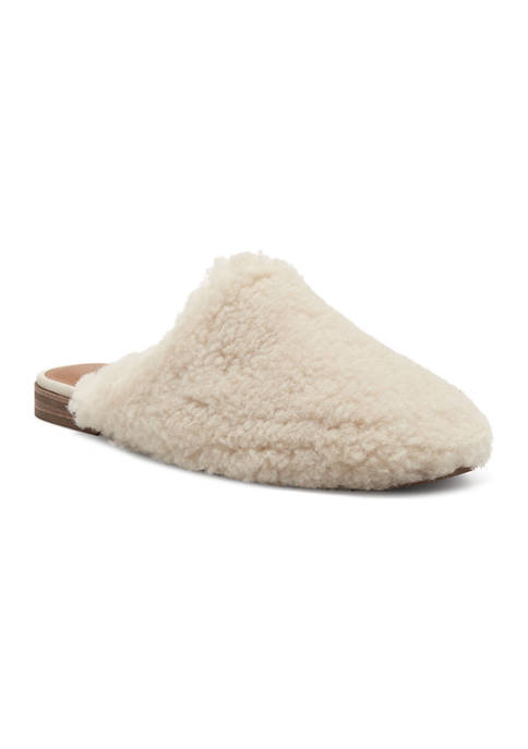 Colliey Shearling Mules
