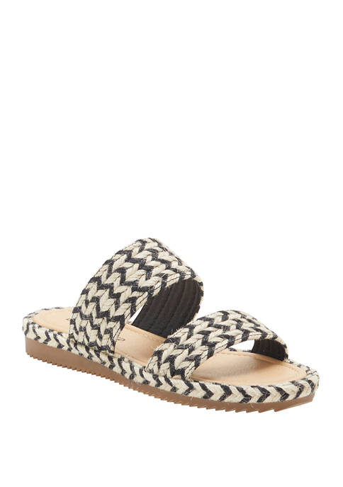 Lucky Brand Decime 2 Band Flat Sandals