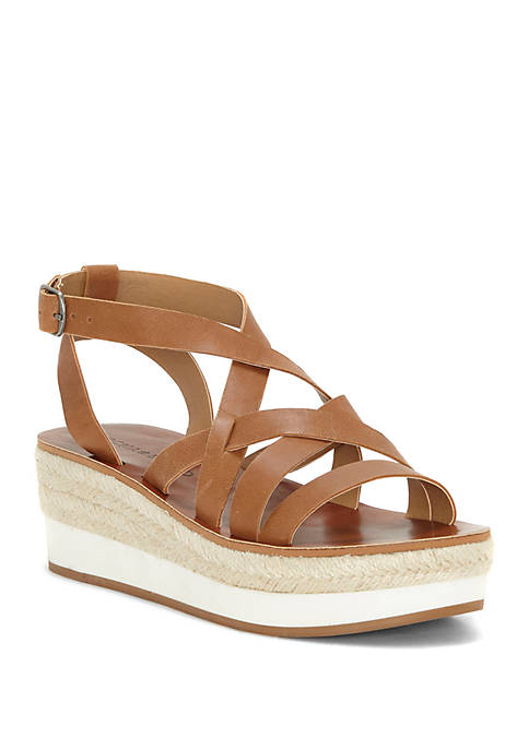 Lucky Brand Jennepeper Sport Wedge Sandals