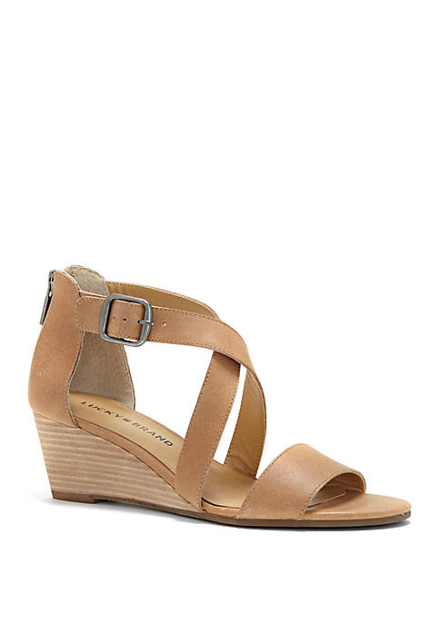 Lucky Brand Jenley Demi Wedge Sandals