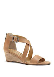 Lucky Brand Jenley Demi Wedge Sandals