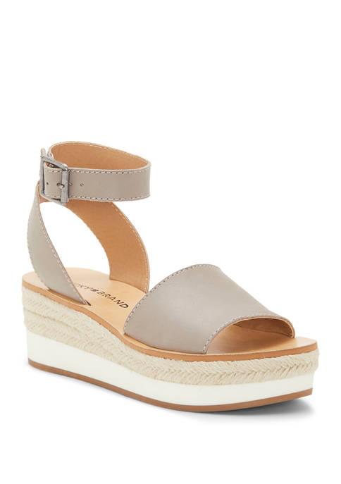 Lucky Brand Joodith Flatform Sandals