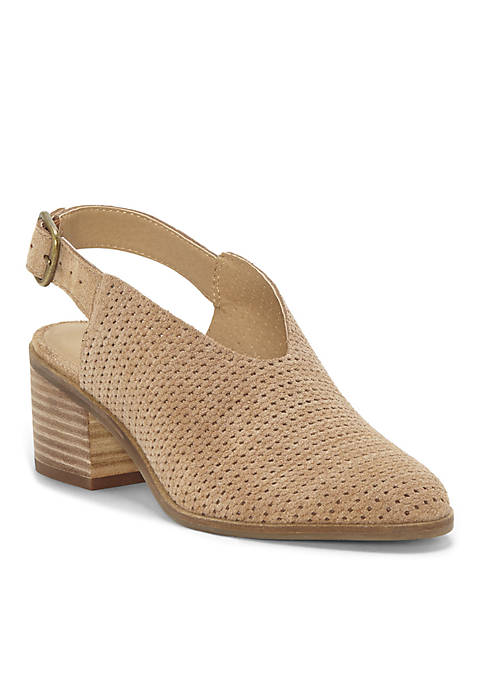 Lucky Brand Lideton Perforated Sling Back Heel