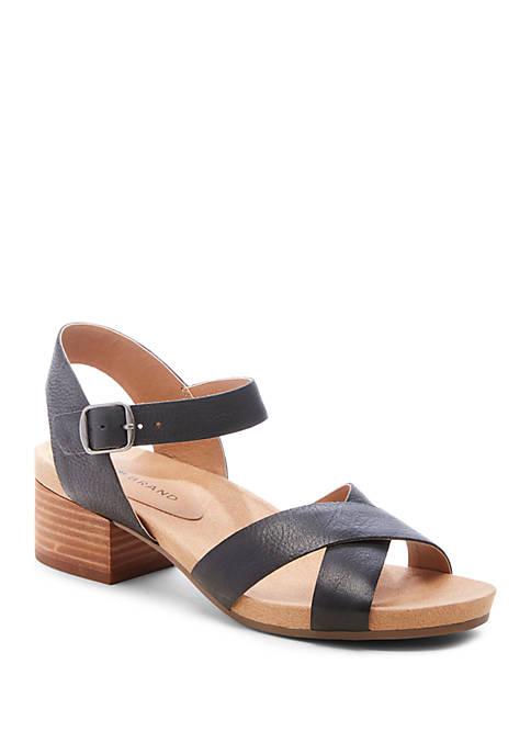Philana Bootbed Block Heel Sandals