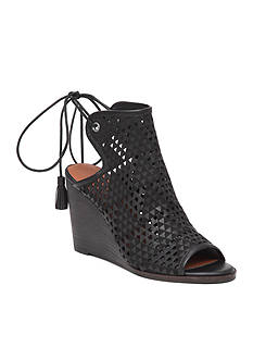 Lucky Brand Riskee Perforated Wedge Sandal