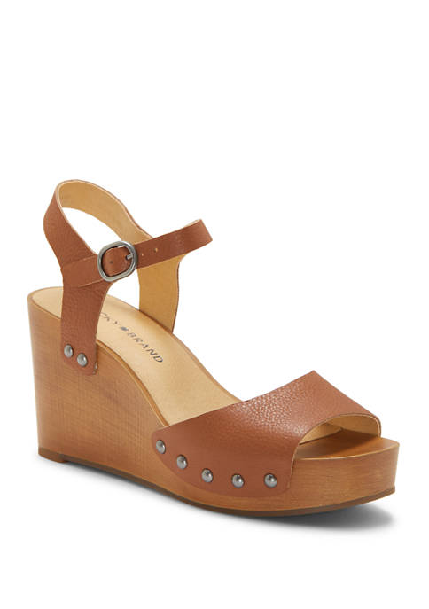 Lucky Brand Zashti Wedge Sandals