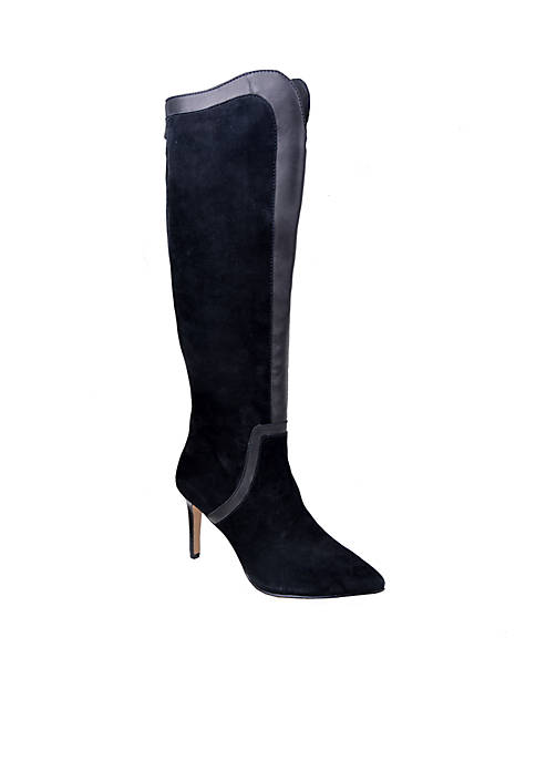 Adrienne Vittadini Nalani Suede Dress Boot