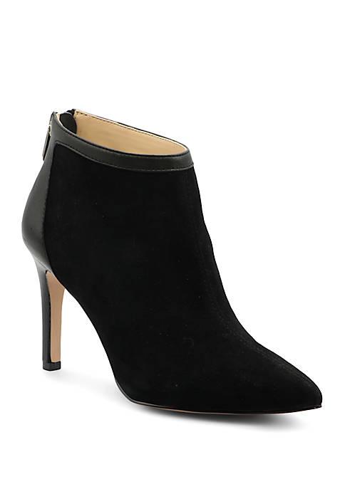 Adrienne Vittadini Nyla Heeled Ankle Booties