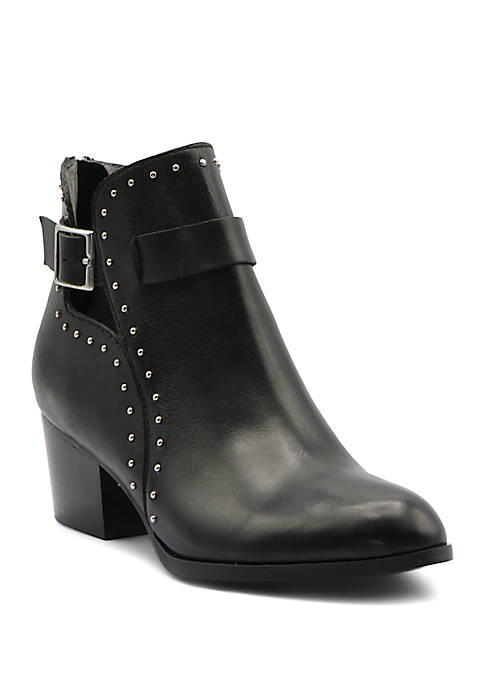 Ranno Studded Buckle Booties