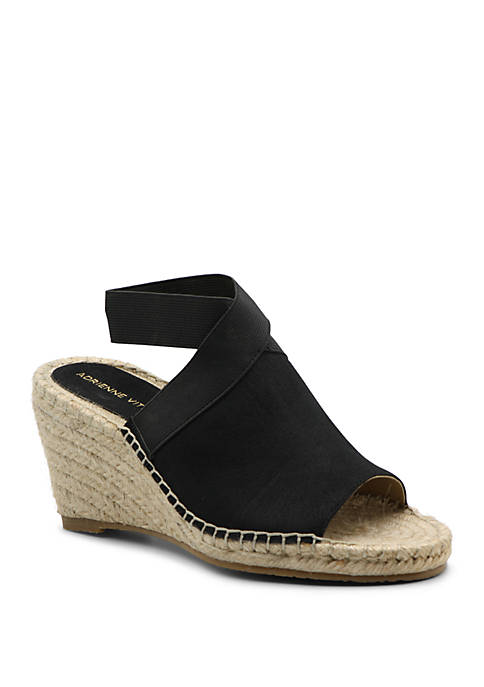 Adrienne Vittadini Calla Wedge Sandals