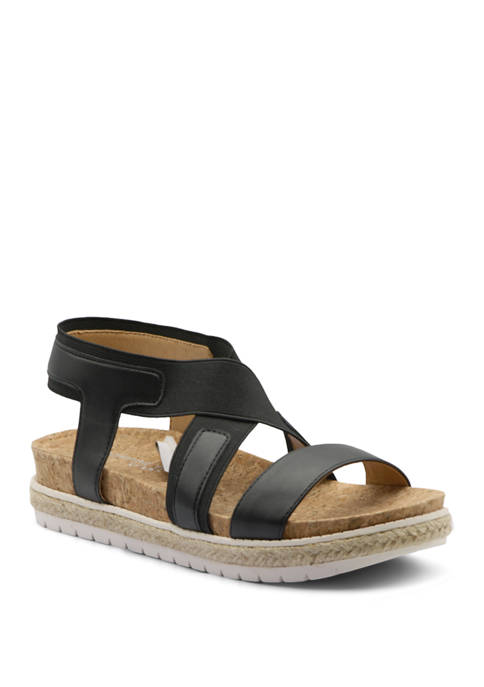 Adrienne Vittadini Pritin Footbed Sandals