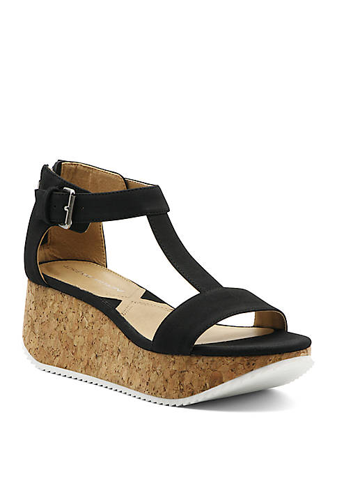 Chaps Wedge Sandals