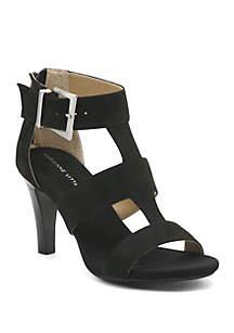 Adrienne Vittadini Varsity Strappy Sandals