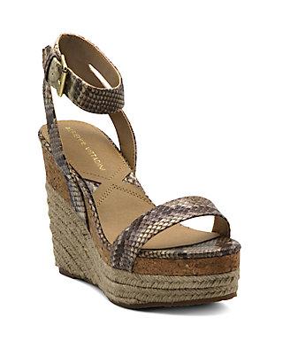 b792fcb47b6 Adrienne Vittadini. Adrienne Vittadini Cari Wedge Sandals