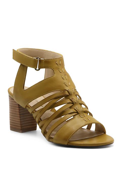 Adrienne Vittadini Pense Block Heel Sandals