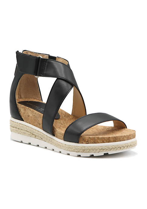 Strappy Footbed Sandals