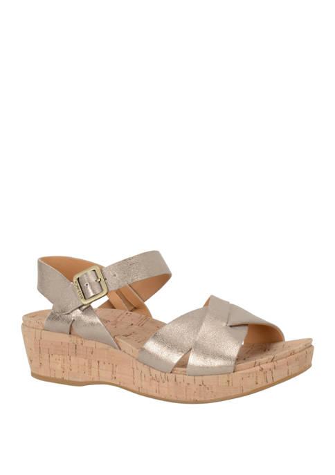 Myrna Wedge Sandals
