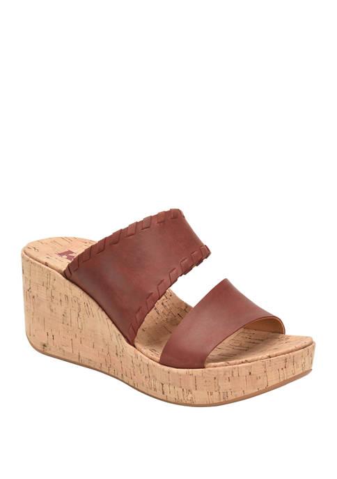 Korks Kendri Wedge Sandals