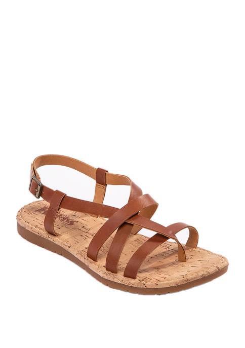 Korks Filicity Strappy Flat Sandals