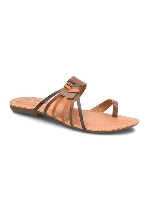 Raine Flat Sandals