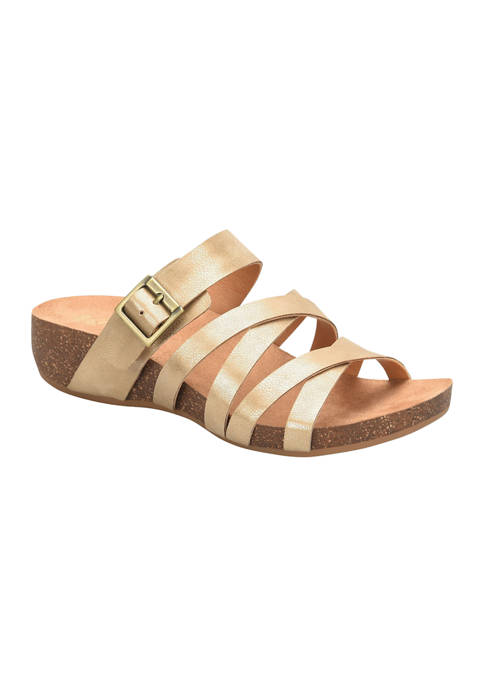 Aster Low Wedge Sandals