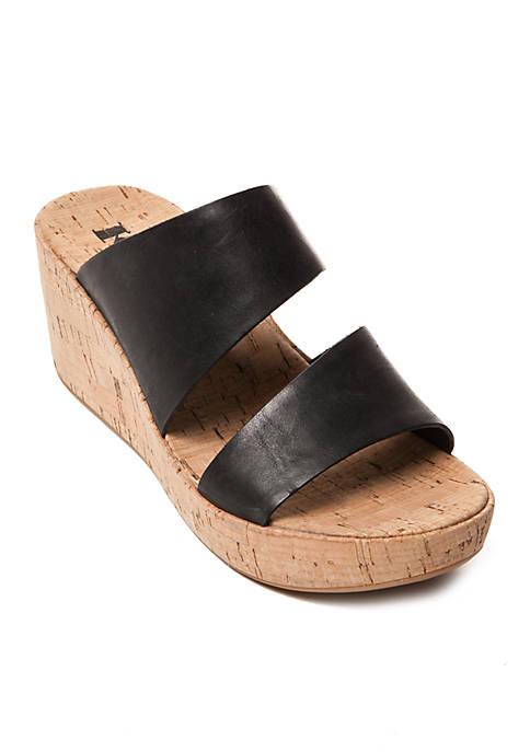 Korks Deltona Cork Slide Sandals