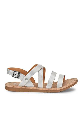 Korks Aiken Flat Sling Sandals 2l0QB