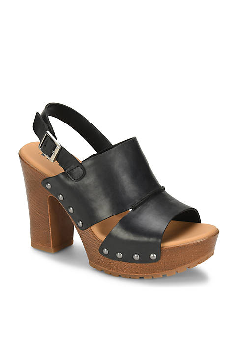 Kristian Wood Bottom Sandals