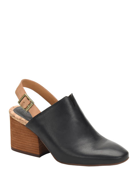 Rayleigh Sling Back Clogs