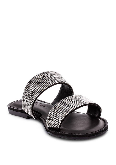 Rock and Candy by ZiGi Studded Slide Sandals