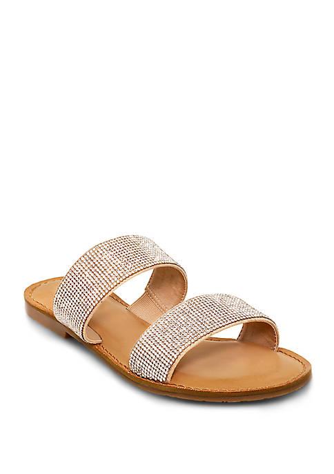 Studded Slide Sandals