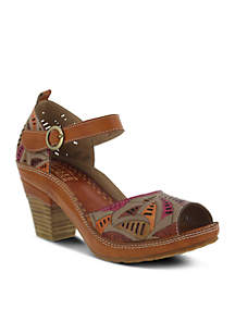 Avelle Peep Toe Sandal
